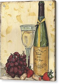 Veneto Pinot Grigio Acrylic Print by Debbie DeWitt