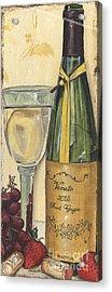 Veneto Pinot Grigio Panel Acrylic Print by Debbie DeWitt
