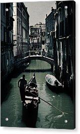Venice II Acrylic Print by Cambion Art