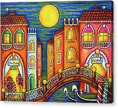 Venice Soiree Acrylic Print by Lisa  Lorenz