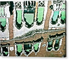 Venice Upside Down 2 Acrylic Print by Heiko Koehrer-Wagner