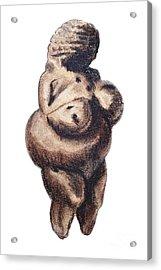 Venus - Fertility Symbol Acrylic Print by Michal Boubin