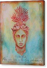 Venus Acrylic Print by Gabriela Valencia