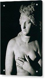 Venus Pudica  Acrylic Print by Unknown