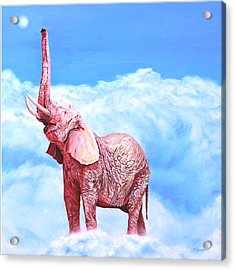 Venus Rising Acrylic Print by Sarah Soward
