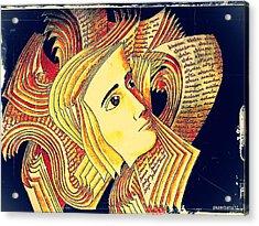 Verbal And Non Verbal Language Acrylic Print by Paulo Zerbato