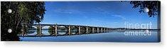 Veterans Memorial Bridge On The Susquehanna River Acrylic Print by Olivier Le Queinec