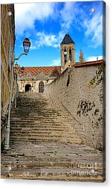 Vetheuil Acrylic Print by Olivier Le Queinec