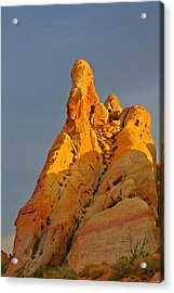 Vibrant Valley Of Fire Acrylic Print by Christine Till