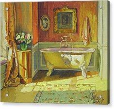 Victorian Bath Acrylic Print by Jonel Scholtz
