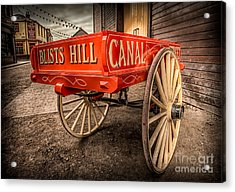 Victorian Cart Acrylic Print by Adrian Evans