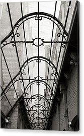 Victorian Glass Roof Acrylic Print by Wim Lanclus