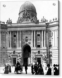 Vienna Austria - Imperial Palace - C 1902 Acrylic Print by International  Images