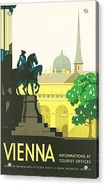 Vienna Acrylic Print by Georgia Fowler