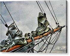 Vieux Greement Acrylic Print by Karo Evans