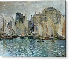View Of Le Havre Acrylic Print by Claude Monet