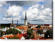View Of St Olav's Church Acrylic Print by Fabrizio Troiani