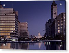 View Of The Capitol Building Acrylic Print by Kenneth Garrett