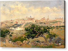 View Of Toledo Acrylic Print by Mountain Dreams