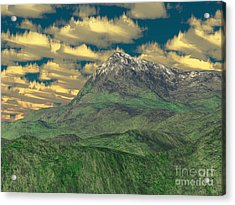 View To The Mountain Acrylic Print by Gaspar Avila