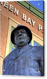 Vince Lombardi Acrylic Print by Joel Witmeyer