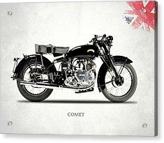 Vincent Comet Series C Acrylic Print by Mark Rogan