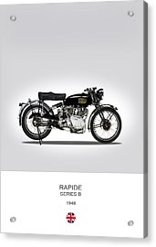 Vincent Hrd Rapide 1948 Acrylic Print by Mark Rogan