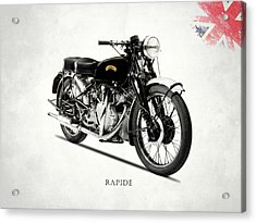 Vincent Hrd Rapide Acrylic Print by Mark Rogan