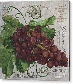 Vins De Champagne Acrylic Print by Debbie DeWitt