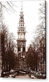 Vintage Amsterdam Acrylic Print by John Rizzuto