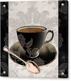 Vintage Cafe IIi Acrylic Print by Mindy Sommers