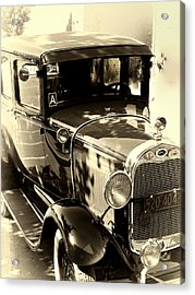 Vintage Classic Ride Acrylic Print by Julie Palencia
