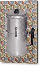 Vintage Coffee Pot Acrylic Print by Susan Leggett