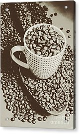 Vintage Coffee Art. Stimulant Acrylic Print by Jorgo Photography - Wall Art Gallery
