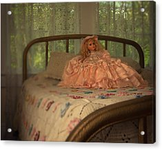 Vintage Doll Acrylic Print by Mitch Spence