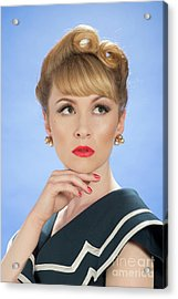 Vintage Glamour Acrylic Print by Amanda And Christopher Elwell