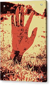 Vintage Horror Poster Art  Acrylic Print by Jorgo Photography - Wall Art Gallery