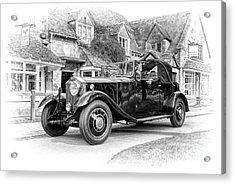Vintage Rolls Royce  Acrylic Print by Tim Gainey