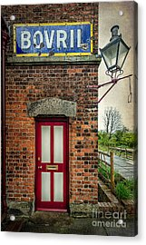 Vintage Sign Acrylic Print by Adrian Evans