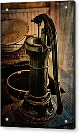 Vintage Sink Acrylic Print by Lana Trussell