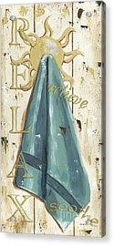 Vintage Sun Beach 2 Acrylic Print by Debbie DeWitt