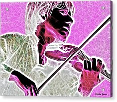 Violin Acrylic Print by Stephen Younts