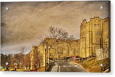 Virginia Military Institute Acrylic Print by Todd Hostetter