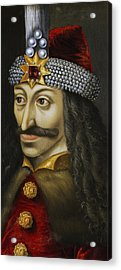 Vlad The Impaler Acrylic Print by Unknown