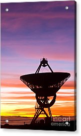 Vlba At Sunrise 2 Acrylic Print by David Nunuk