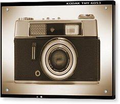 Voigtlander Rangefinder Camera Acrylic Print by Mike McGlothlen