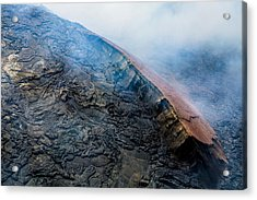 Acrylic Print featuring the photograph Volcanic Ridge by M G Whittingham