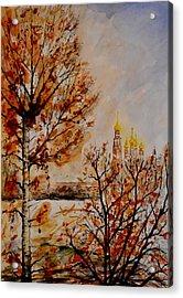 W 9 Moscow Acrylic Print by Dogan Soysal