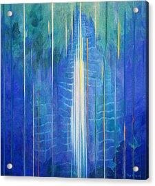 Waimoku Falls Acrylic Print by Fay Biegun - Printscapes