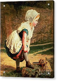 Wait For Me Acrylic Print by Sophie Anderson